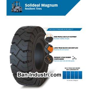 Ban Forklift SOLIDEAL